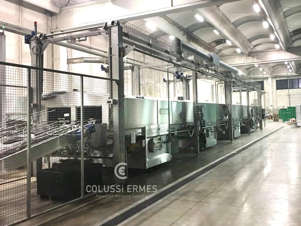 Kistenwaschanlage - 39 - Colussi Ermes