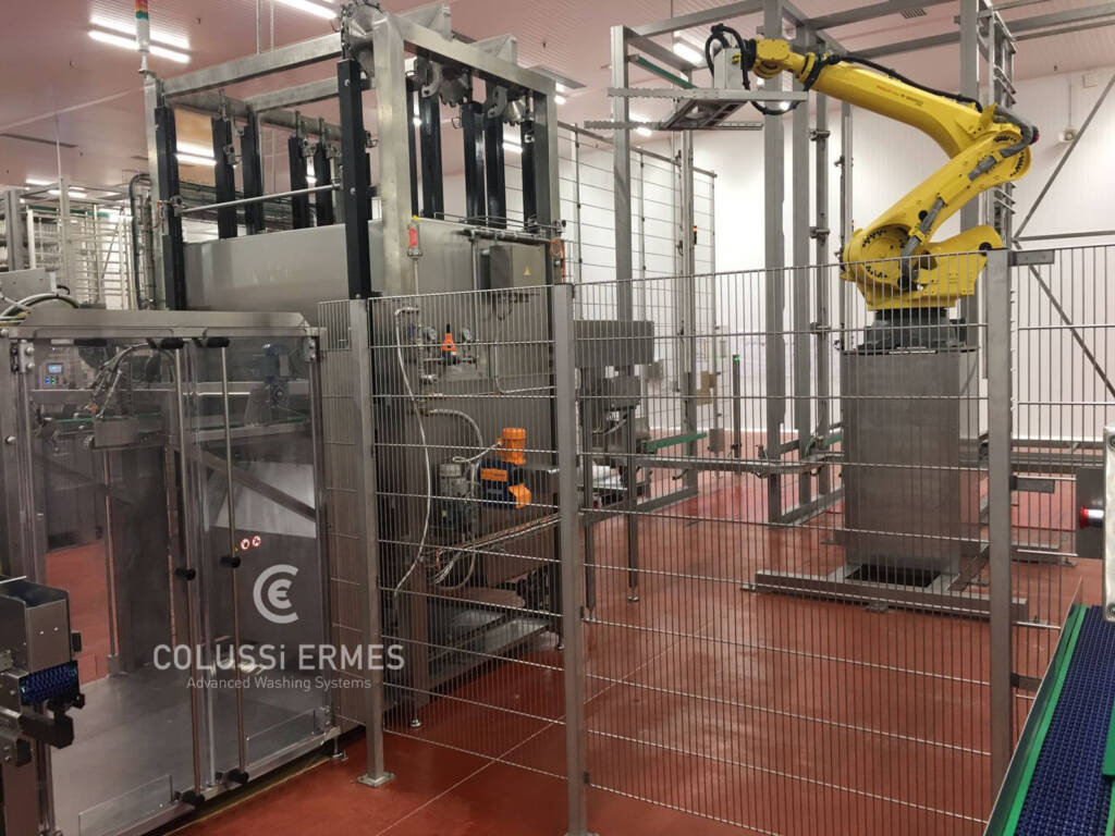 Salamiwasch- und abblasmaschinen - 20 - Colussi Ermes