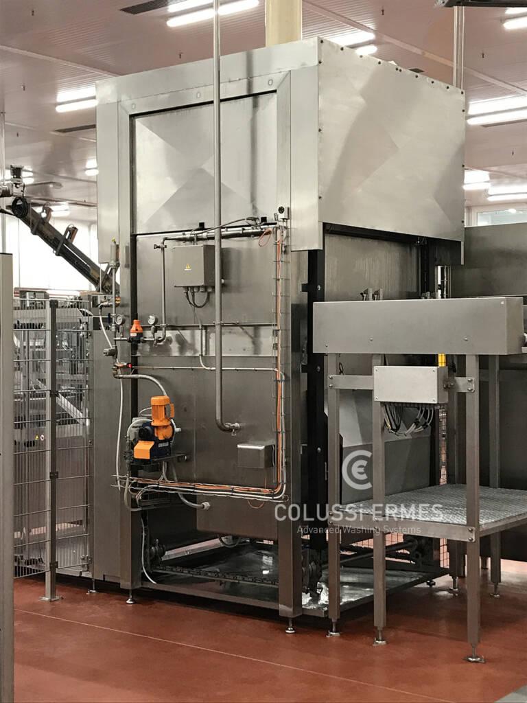 Salamiwasch- und abblasmaschinen - 21 - Colussi Ermes
