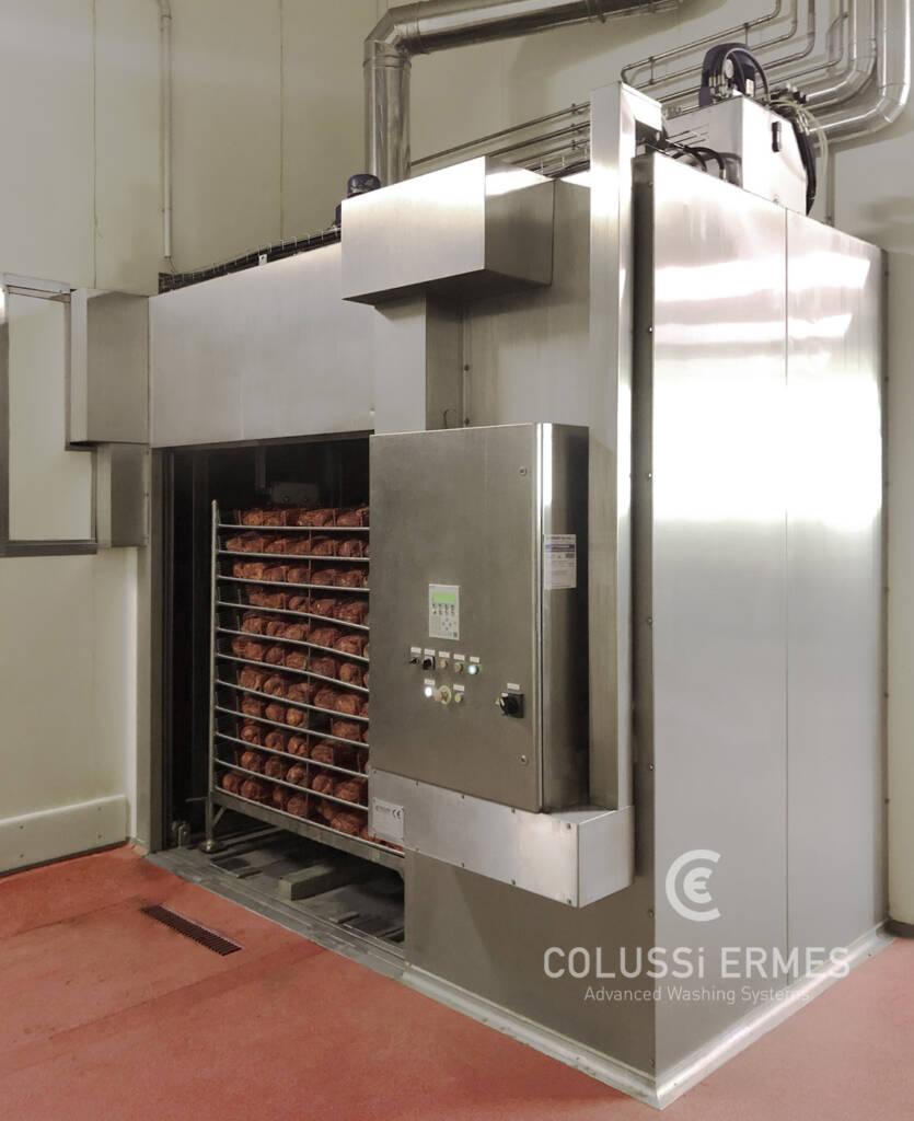 Salamiwasch- und abblasmaschinen - 23 - Colussi Ermes