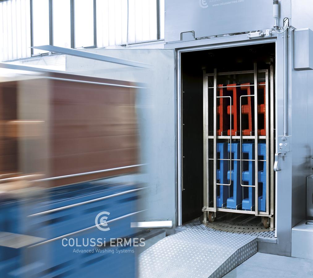 Palettenwaschanlage - 11 - Colussi Ermes