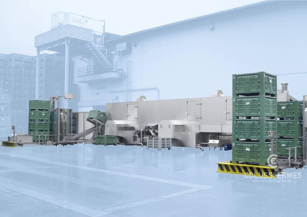 Großbehälterwaschanlagen - 12 - Colussi Ermes