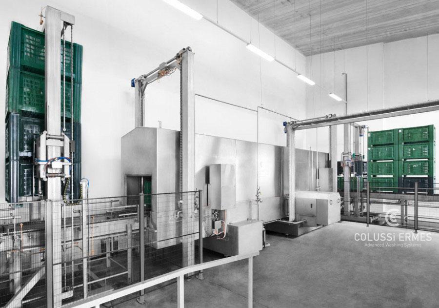 Großbehälterwaschanlagen - 14 - Colussi Ermes