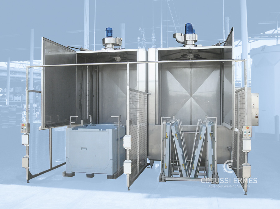 Großbehälterwaschanlagen - 17 - Colussi Ermes