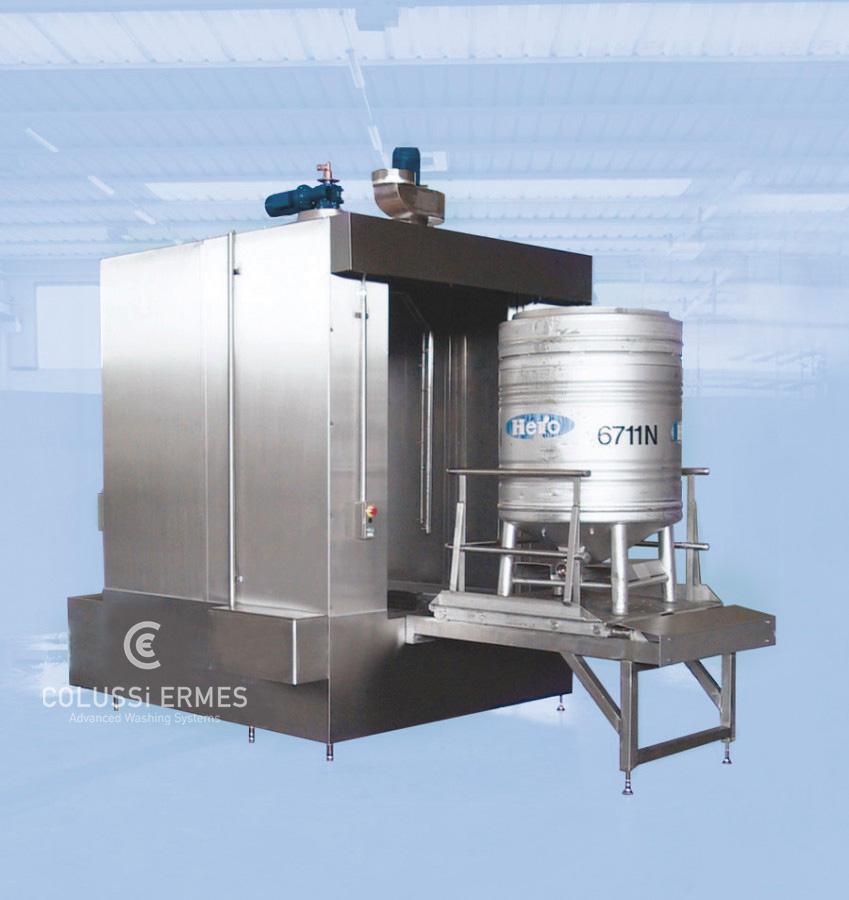 IBC-Behälterwaschanlagen Colussi Ermes