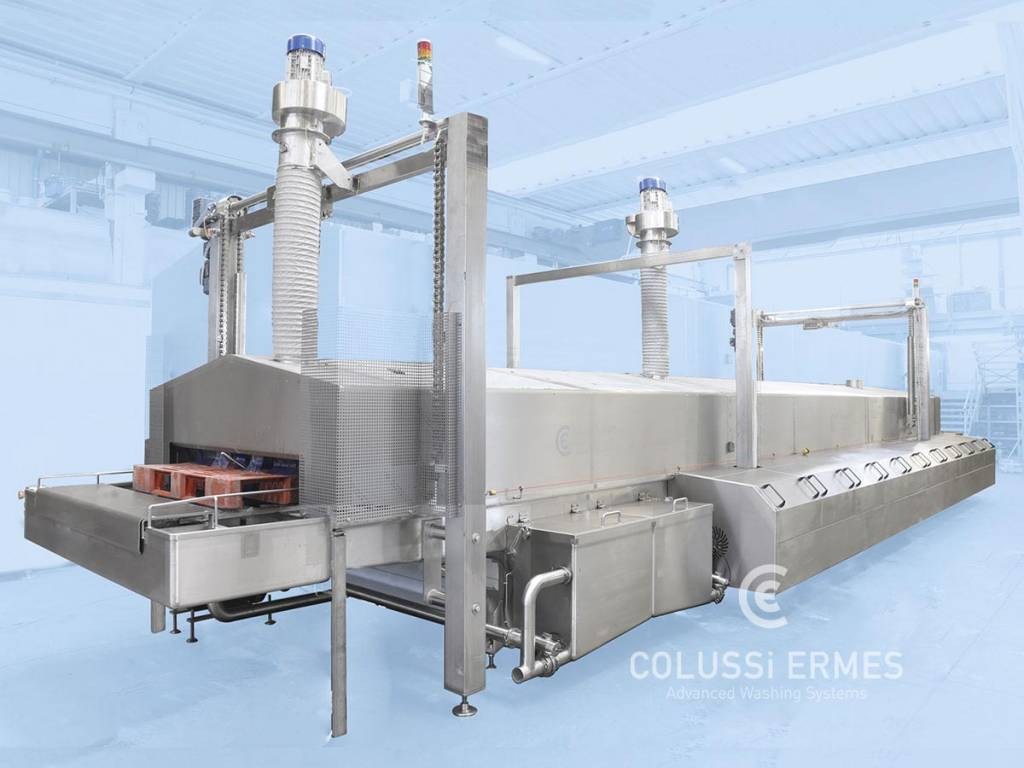 Palettenwaschanlage - 9 - Colussi Ermes