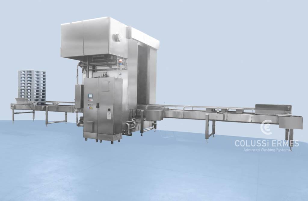 Palettenwaschanlage - 15 - Colussi Ermes