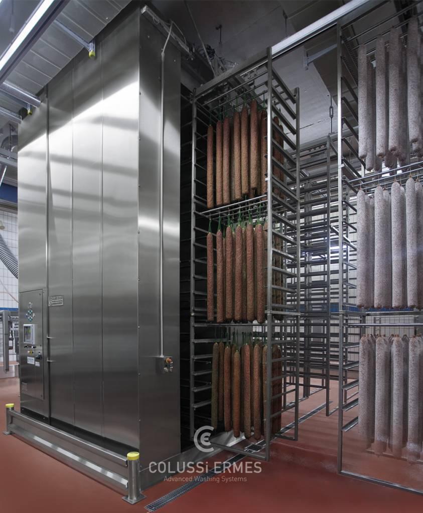 Salamiwasch- und abblasmaschinen - 1 - Colussi Ermes
