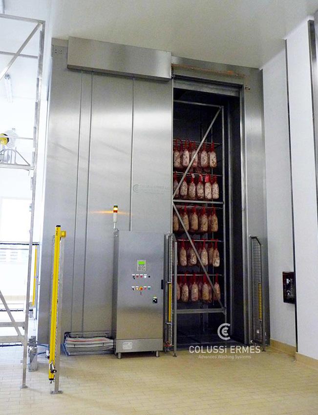 Salamiwasch- und abblasmaschinen - 2 - Colussi Ermes