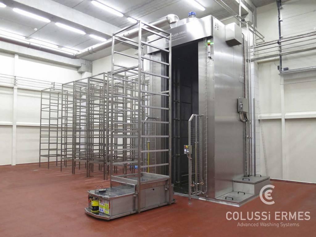 Salamiwasch- und abblasmaschinen - 3 - Colussi Ermes