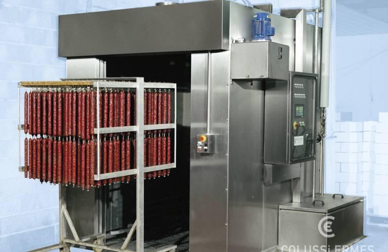 Salamiwasch- und abblasmaschinen
