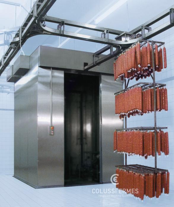 Salamiwasch- und abblasmaschinen - 16 - Colussi Ermes