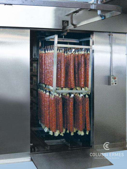 Salamiwasch- und abblasmaschinen - 18 - Colussi Ermes