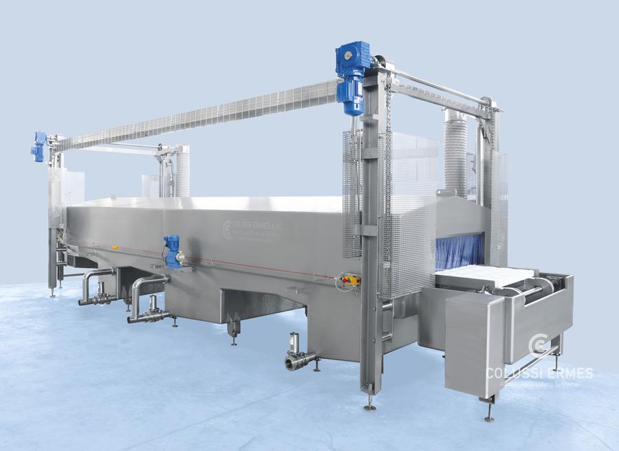 Käse-Blockformenwaschanlage - 3 - Colussi Ermes