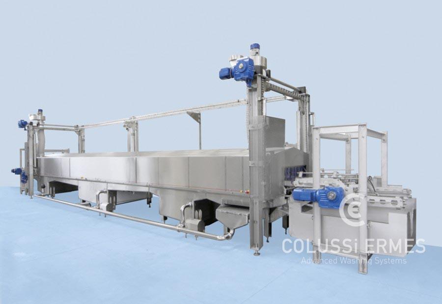 Käse-Blockformenwaschanlage - 4 - Colussi Ermes
