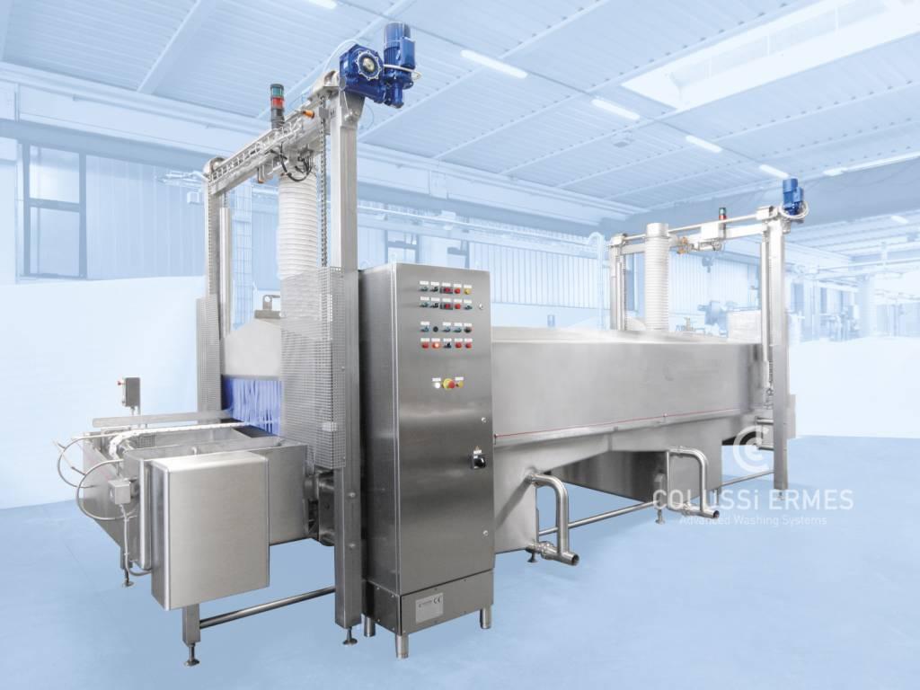 Käse-Blockformenwaschanlage - 6 - Colussi Ermes
