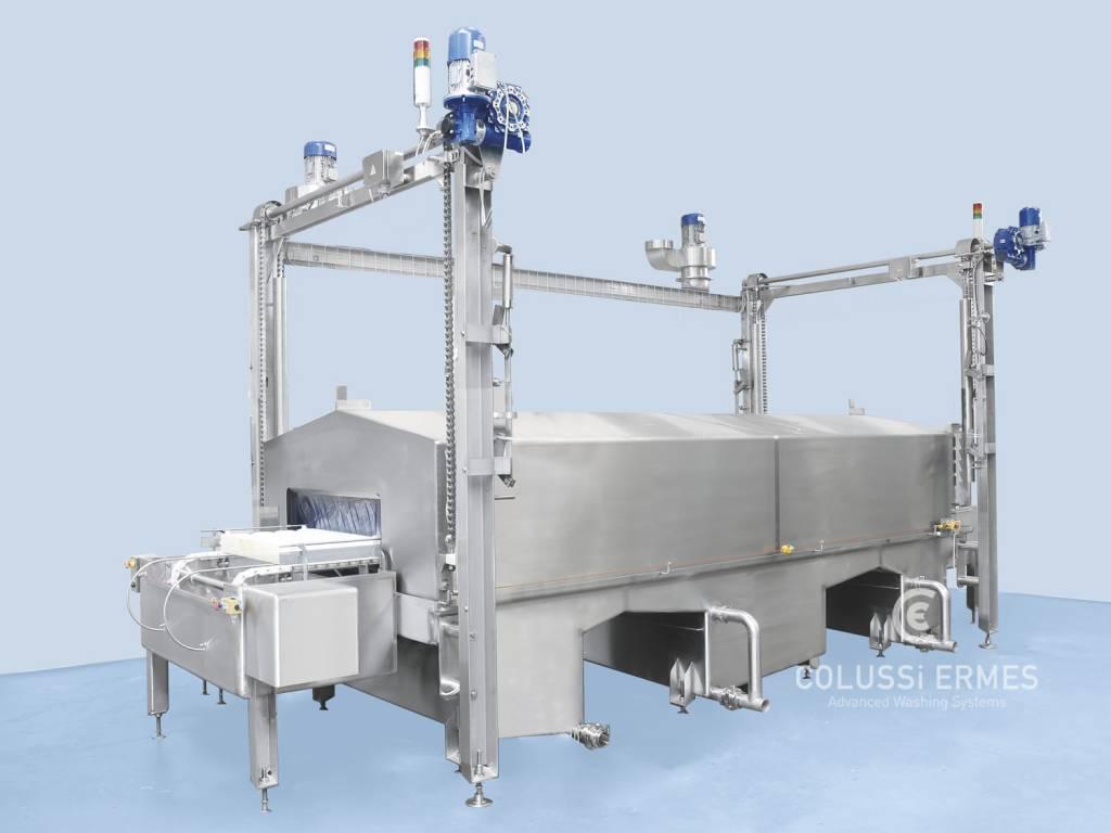 Käse-Blockformenwaschanlage - 7 - Colussi Ermes