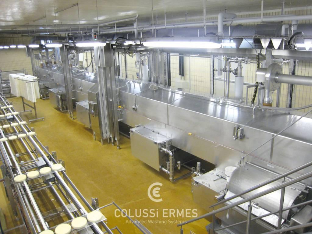 Käse-Blockformenwaschanlage - 8 - Colussi Ermes