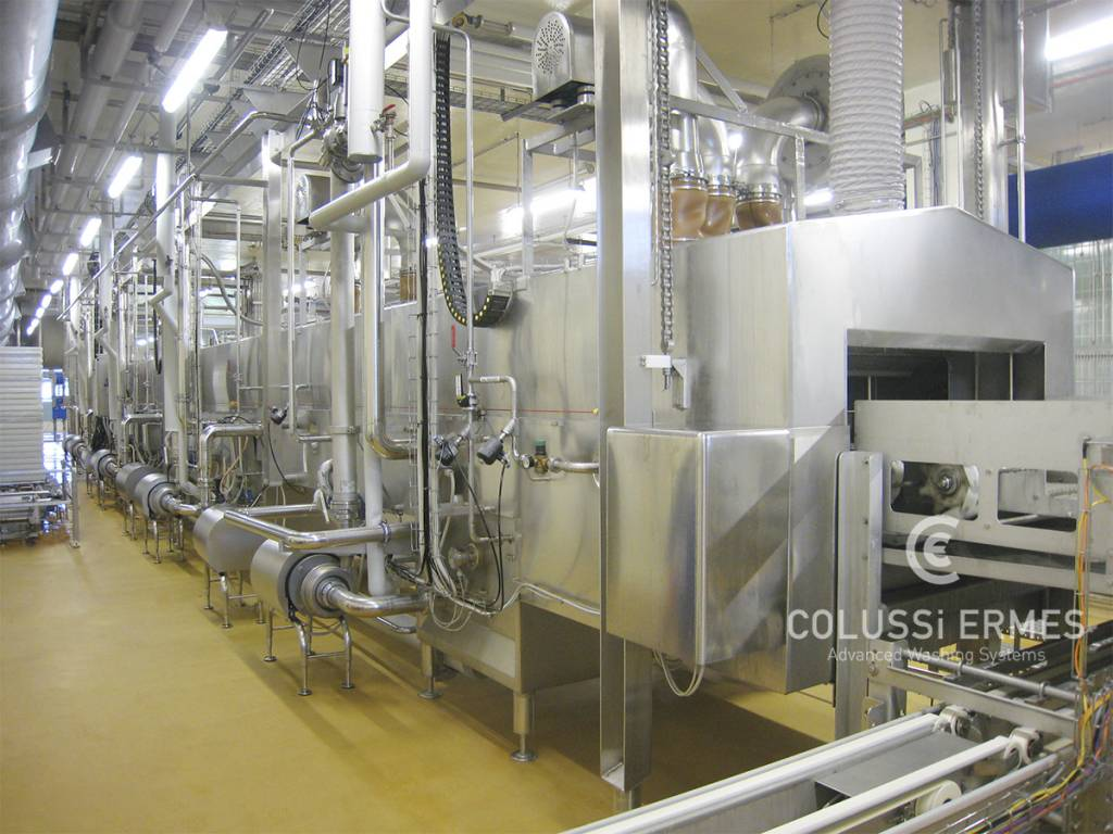Käse-Blockformenwaschanlage Colussi Ermes