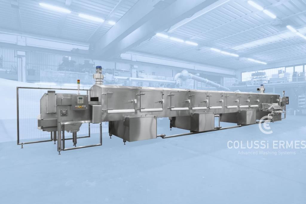 Käse-Blockformenwaschanlage - 11 - Colussi Ermes