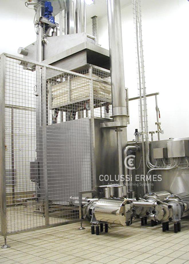 Matten- und Siebbehälterwaschanlage - 4 - Colussi Ermes