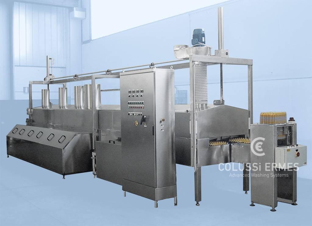 Eierträgerwaschanlage - 5 - Colussi Ermes