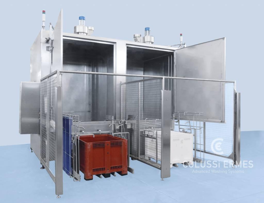 Großbehälterwaschanlagen - 1 - Colussi Ermes